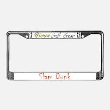 Slam Dunk License Plate Frame