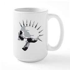 spike skull punk rock Mug