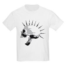 spike skull punk rock T-Shirt