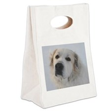 Great Pyrenees Canvas Lunch Tote