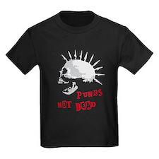 spike skull punk rock T