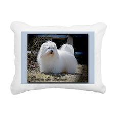 Coton de Tulear Rectangular Canvas Pillow