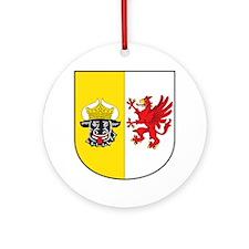 Mecklenburg-Vorpommern Wappen Ornament (Round)