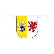 Mecklenburg-Vorpommern Wappen Aluminum License Pla