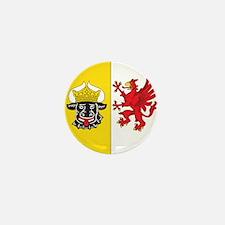 Mecklenburg-Vorpommern Wappen Mini Button