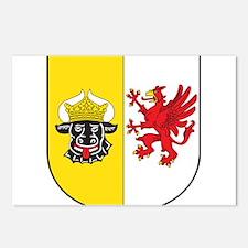 Mecklenburg-Vorpommern Wappen Postcards (Package o