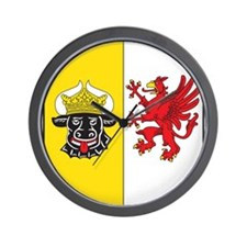 Mecklenburg-Vorpommern Wappen Wall Clock