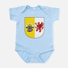Mecklenburg-Vorpommern Wappen Infant Bodysuit