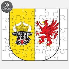 Mecklenburg-Vorpommern Wappen Puzzle