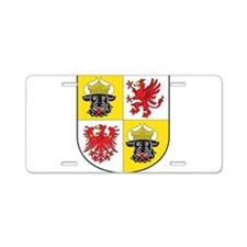Mecklenburg-Vorpommern Landeswappen Aluminum Licen