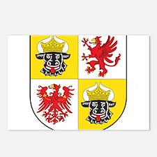 Mecklenburg-Vorpommern Landeswappen Postcards (Pac