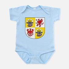 Mecklenburg-Vorpommern Landeswappen Infant Bodysui