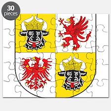 Mecklenburg-Vorpommern Landeswappen Puzzle