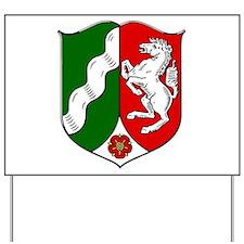 Nordrhein-Westfalen Wappen Yard Sign