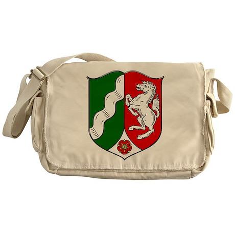 Nordrhein-Westfalen Wappen Messenger Bag