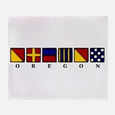 Oregon Throw Blanket