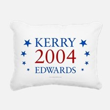 Kerry Edwards 2004 Rectangular Canvas Pillow