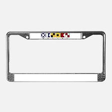 Malibu License Plate Frame