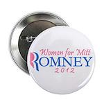 Pink Feminine Women for Mitt Romney 2012 2.25&quot