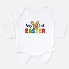 My 1st Easter Long Sleeve Infant Bodysuit