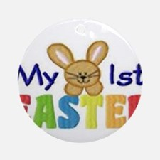My 1st Easter Ornament (Round)