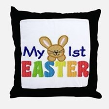 My 1st Easter Throw Pillow
