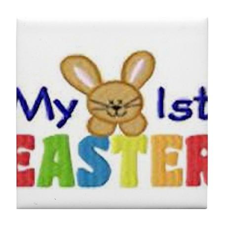 My 1st Easter Tile Coaster