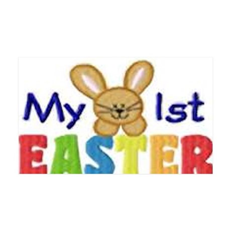 My 1st Easter 35x21 Wall Decal