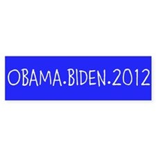 OBAMA.BIDEN.2012 Stickers
