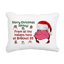 Brocket 99 Christmas Rectangular Canvas Pillow