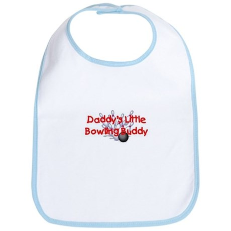 Daddy's Little Bowling Buddy Bib