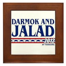 Darmok & Jalad at Tanagra 2012 Framed Tile