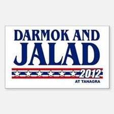 Darmok & Jalad at Tanagra 2012 Sticker (Rectangle)