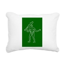 Cerne Abbas - Rectangular Canvas Pillow