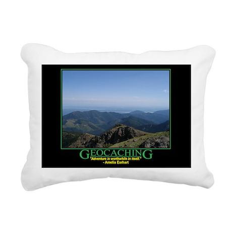 Motivational Rectangular Canvas Pillow