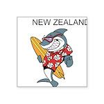 New Zealand Square Sticker 3