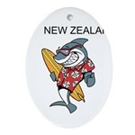 New Zealand Ornament (Oval)