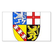 Saarland Wappen Decal