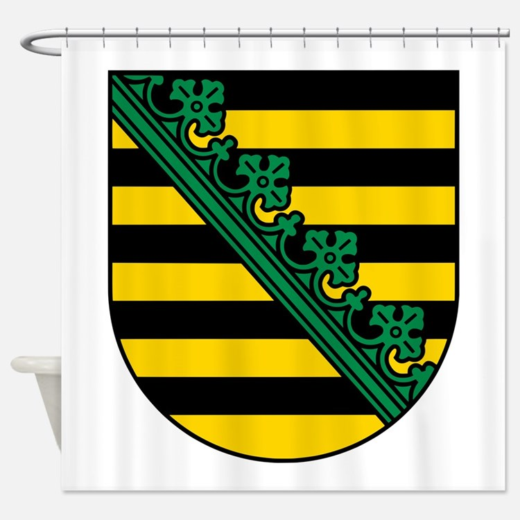 Sachsen Wappen Shower Curtain