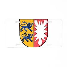 Schleswig-Holstein Wappen Aluminum License Plate