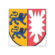 """Schleswig-Holstein Wappen Square Sticker 3"""" x 3"""""""