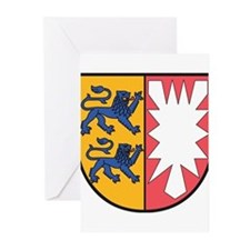 Schleswig-Holstein Wappen Greeting Cards (Pk of 20