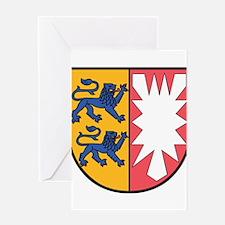 Schleswig-Holstein Wappen Greeting Card