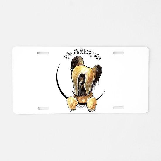 Briard Skye IAAM Aluminum License Plate