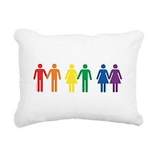 Love is Love Rectangular Canvas Pillow