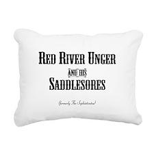 RED RIVER - Rectangular Canvas Pillow