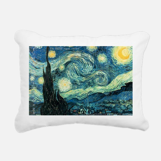 Art Gallery Rectangular Canvas Pillow