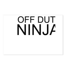 Off Duty Ninja Postcards (Package of 8)