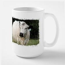 British White Cattle Herd - Large Mug