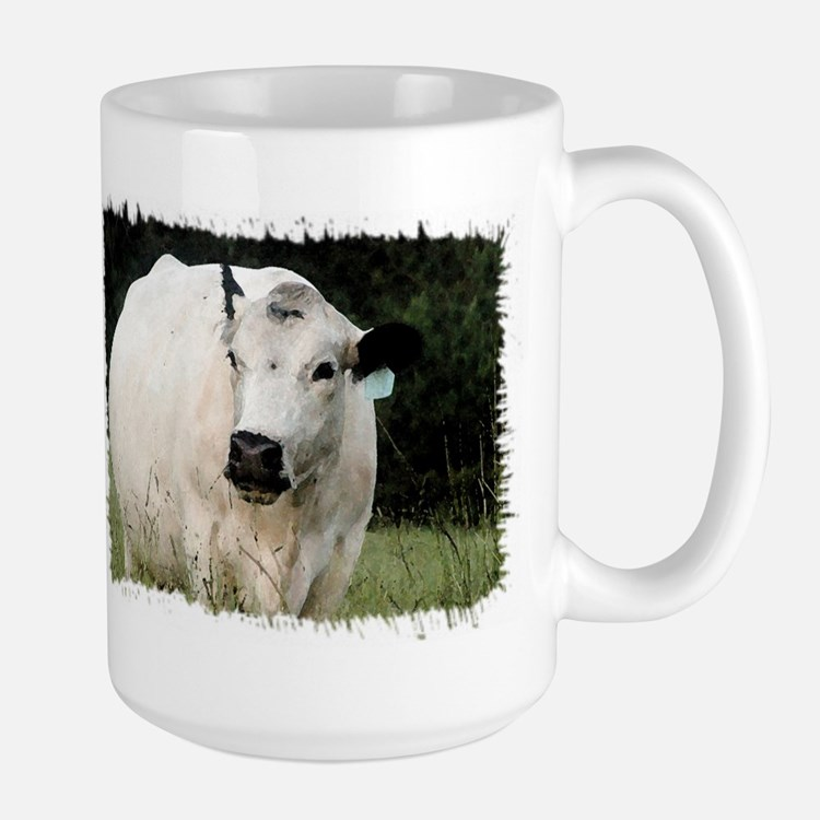 British White Cattle Herd - Mug